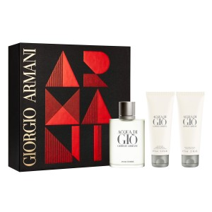 ARMANI ACQUA DI GIO EDT 100 ml + ŻEL 75 ml + BALSAM 75 ml