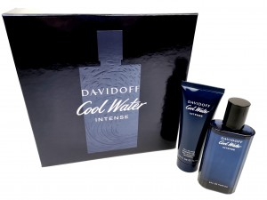 Davidoff Cool Water Intense Zestaw EDT  75 ml + Żel pod prysznic 75 ml