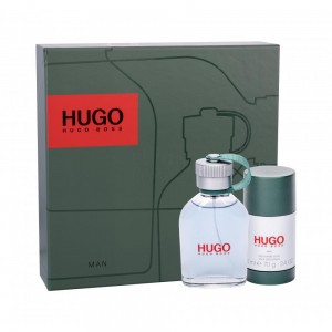 HUGO BOSS HUGO MAN GREEN Zestaw 75ml EDT + 75ml DEZODORANT