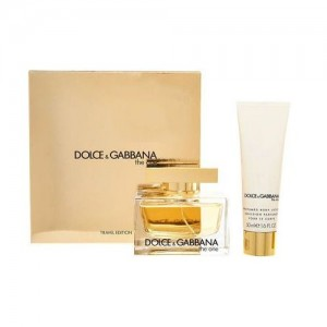 DOLCE & GABBANA THE ONE EDP ZESTAW 75 ml + 100 ml balsam