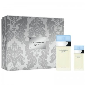 DOLCE & GABBANA LIGHT BLUE Zestaw 100 ml EDT + 25 ml EDT