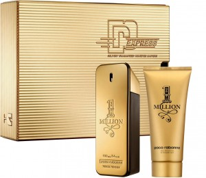 PACO RABANNE Zestaw 1 MILLION 100 EDT + Żel 100 ml