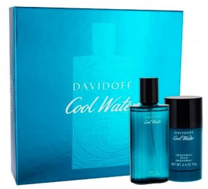 DAVIDOFF COOL WATER ZESTAW EDT 75 ml + DEZODORANT 75 ml