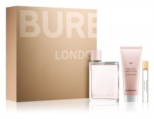 BURBERRY HER EDP 100 ml + EDP 7,5 ml + MLECZKO 75 ml