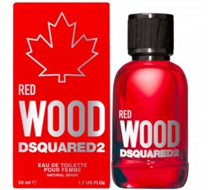 DSQUARED² RED WOOD edt 100 ml folia